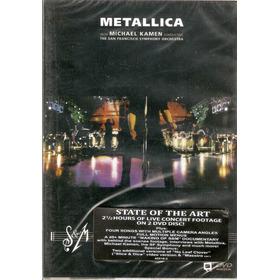 Dvd Duplo Metallica - S & M - Novo***