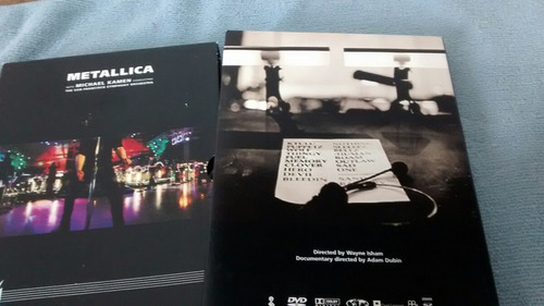 dvd duplo metallica the san francisco symphony orchestra