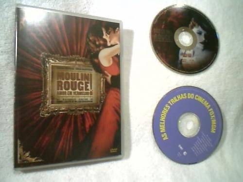 dvd duplo (  moulin  rouge ) nicole kidman - ewan mcgregor
