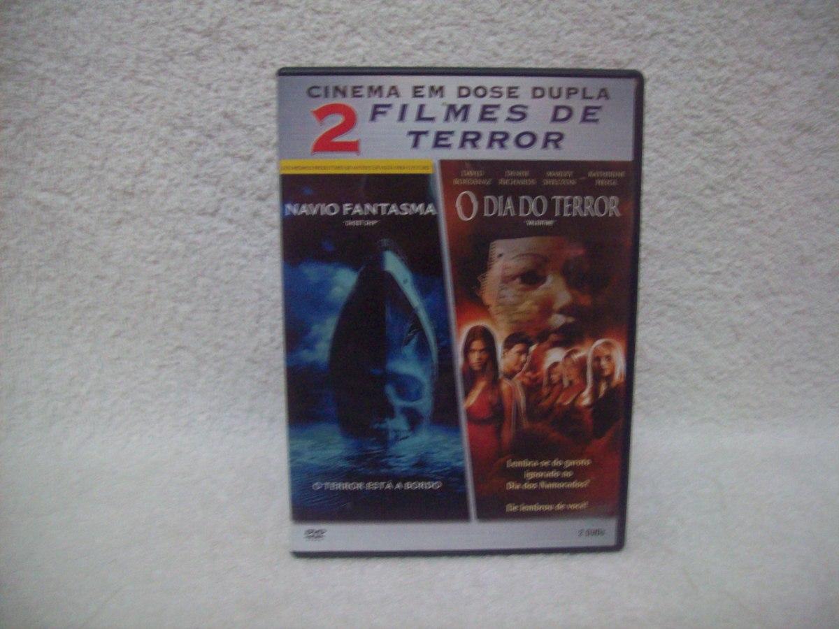 Filme O Dia Do Terror throughout dvd duplo navio fantasma & o dia do terror- 2 filmes - r$ 20,00 em