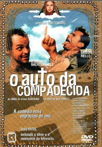 dvd duplo o auto da compadecida - filme + mini série