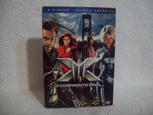 dvd duplo original x-men- o confronto final