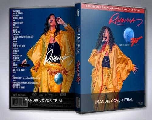 dvd duplo rihanna live rock in rio 2015  frete gratis