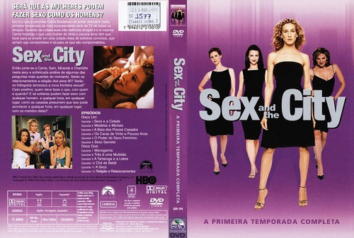 dvd duplo sex and the city primeira temporada completa