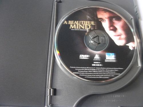 dvd duplo uma mente brilhante russell crowe  ediç colec e4b6