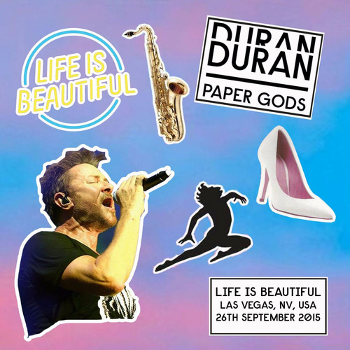 dvd duran duran live at concert life is beautiful fest 2015