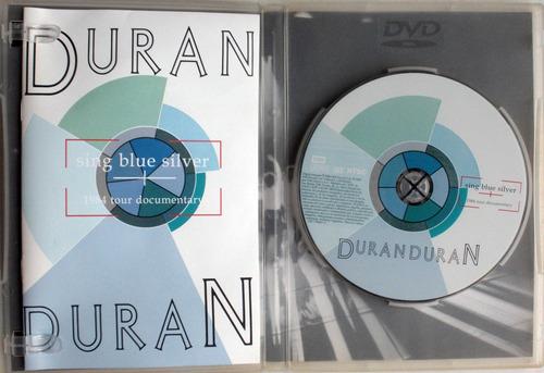 dvd - duran duran - sing blue silver - 1984 tour documentary