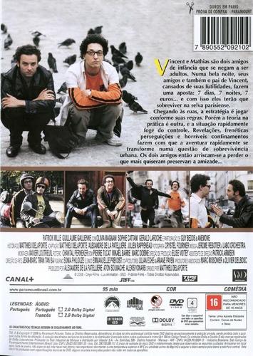 dvd - duros em paris - ( la jungle )