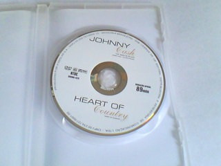 dvd dvd johnny cash - the man in black & heart of country