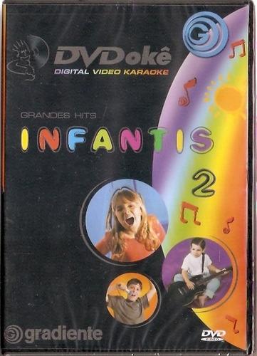 dvd dvdokê - grandes hits infantis 2 - novo***