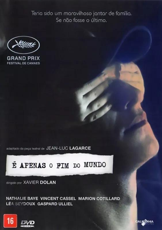 Dvd E Apenas O Fim Do Mundo De Xavier Dolan Lacrado Novo