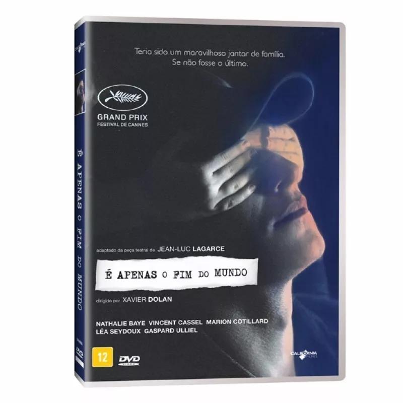 Dvd E Apenas O Fim Do Mundo Xavier Dolan Original Novo