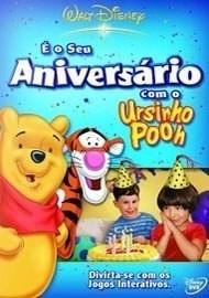 dvd - é o seu aniversário com o ursinho pooh