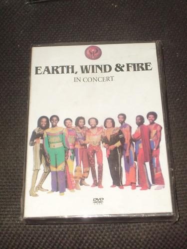 dvd earth wind & fire in concert año 2000 let your feelings