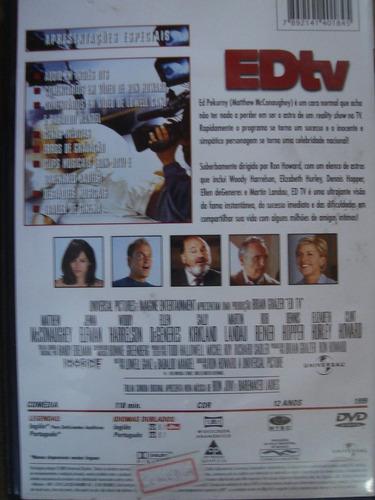 dvd edtv com matthew mcconaughey