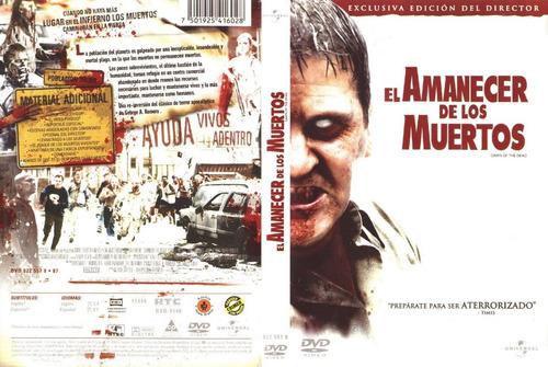 dvd el amanecer de los muertos dawn of the dead zombie gore