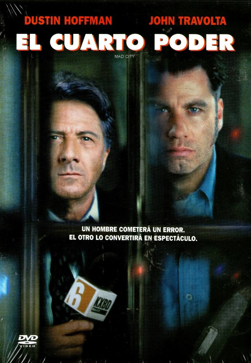 Dvd El Cuarto Poder ( Mad City ) - Costa Gravas - $ 99.00 en Mercado ...