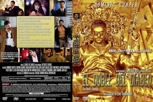 dvd el doble del diablo the devils double saddam tampico