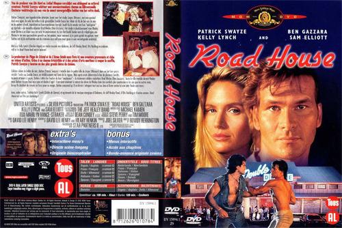 dvd el duro guarda espaldas road house con patrick swayze