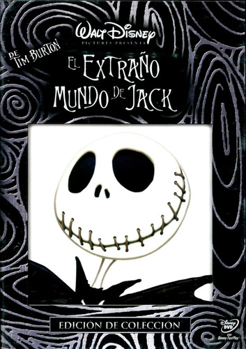 dvd el extraño mundo de jack ( nightmare before christmas )