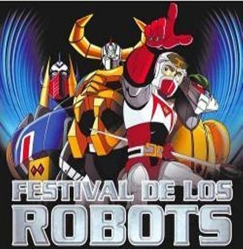 dvd el festival de los robots - la serie animada completa