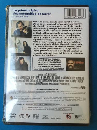 dvd - el resplandor (jack nicholson)
