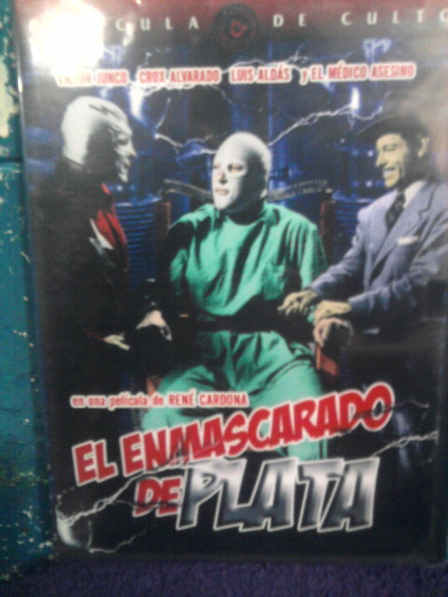 Dvd el santo el enmascarado de plata 1 pel cula lucha libre cargando zoom