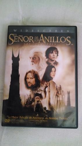 dvd - el señor de los anillos - las 2 torres