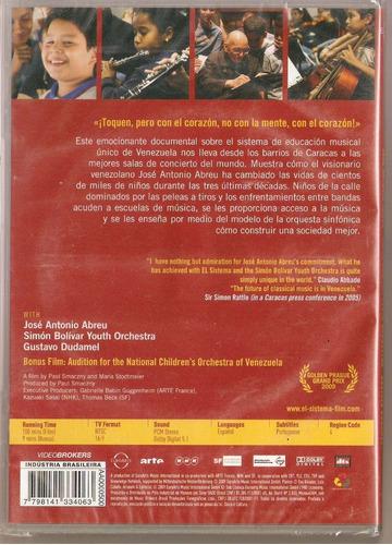 dvd el sistema - music to change life - novo***