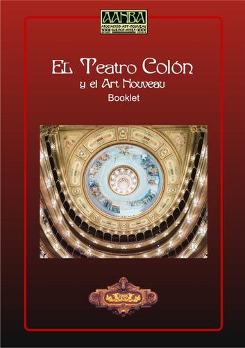 dvd  el teatro colón  caja 5 sentidos con booklet, rosa y ch
