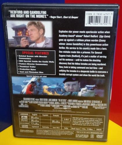 dvd el ultimo castillo 2001 usa (9/10)