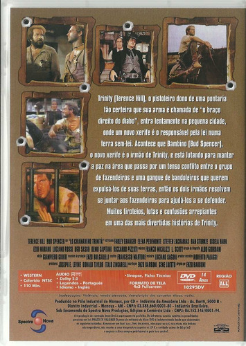 dvd eles me chamam trinity terence hill bud spencer