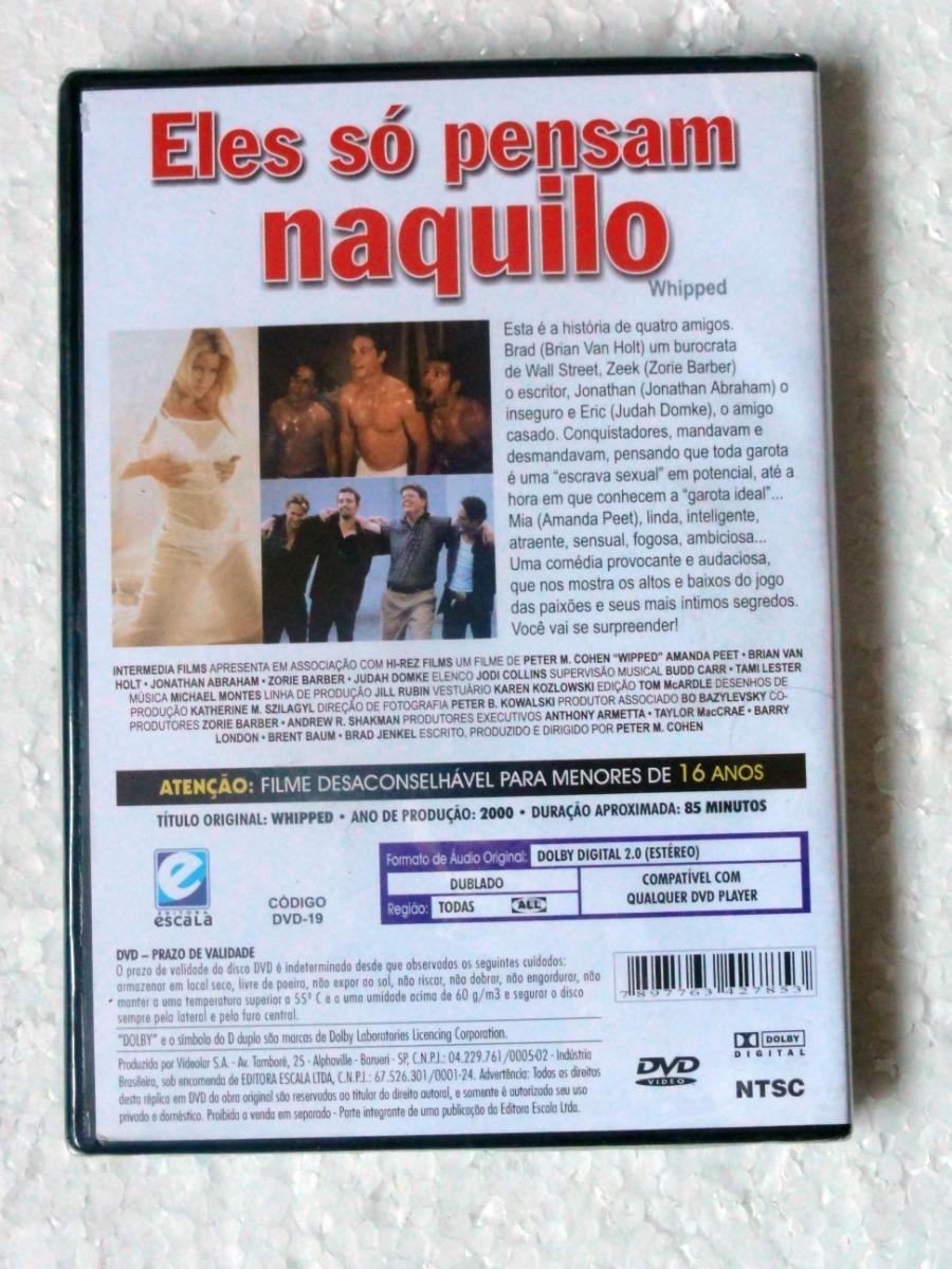 Dvd Eles Só Pensam Naquilo (2000) Amanda Peet Novo Lacrado!!