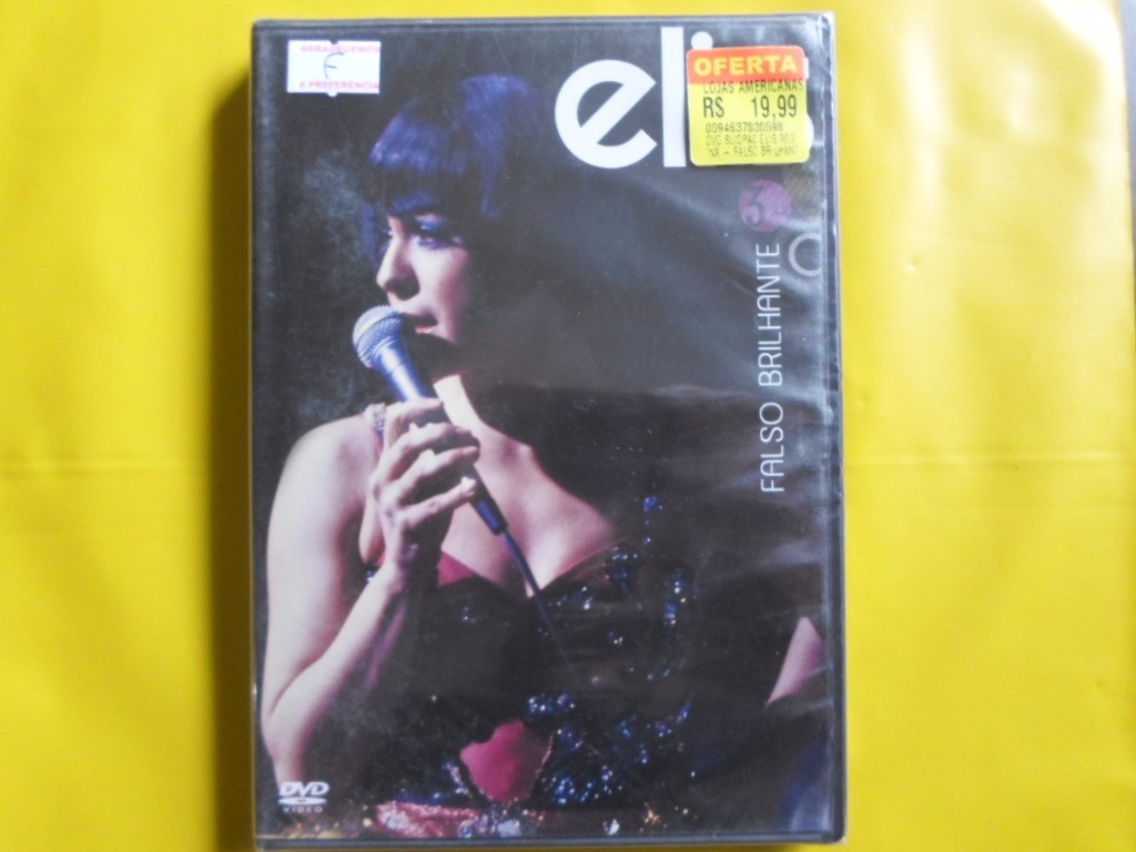 dvd elis regina falso brilhante