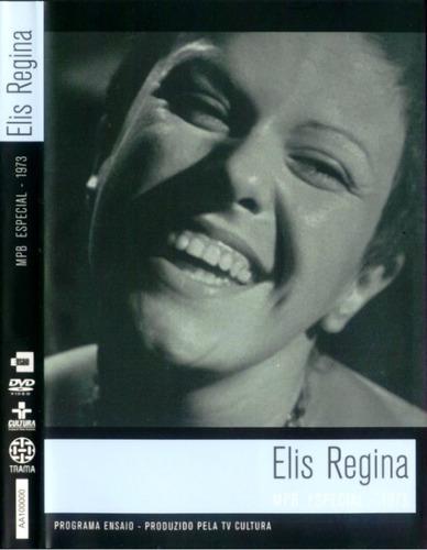 dvd elis regina - mpb especial 1973 - programa ensaio
