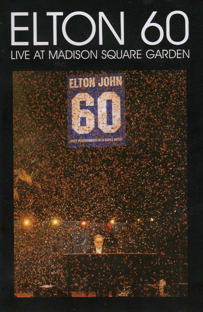 Dvd Elton John - Elton 60 Live At Madison Square Garden - R$ 48,00 ...