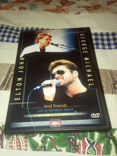 dvd elton john george michael and friends
