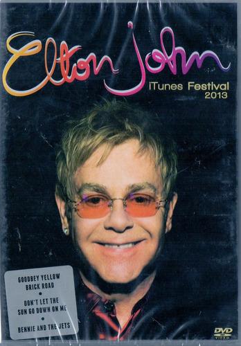 dvd elton john - itunes festival 2013 - novo***