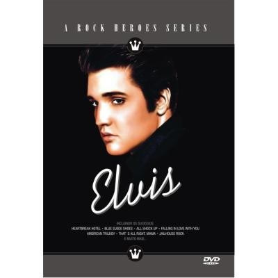 dvd - elvis - a rock heroes series