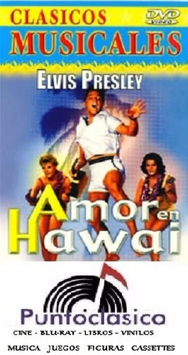dvd - elvis presley - amor en hawai