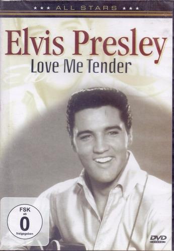 dvd elvis presley - love me tender (original e lacrado)