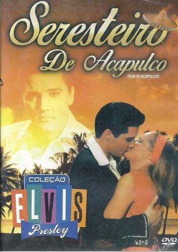 dvd elvis presley o seresteiro de acapulco