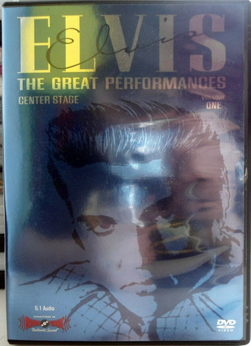 dvd elvis presley - the great performances center stage vol1
