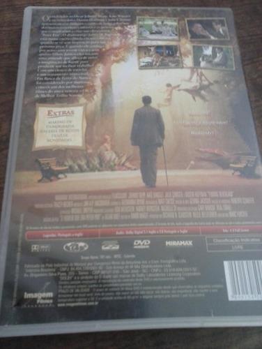 dvd em busca da terra do nunca - frete grátis