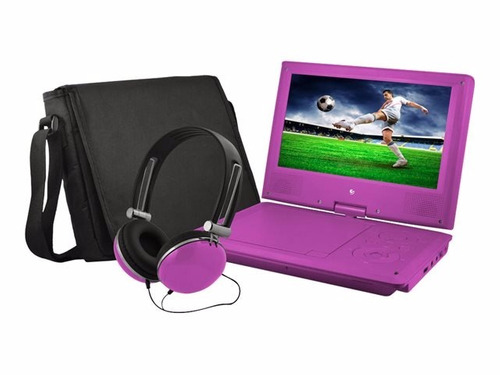 dvd ematic epd909 portátil pantalla lcd 9'' con audífonos