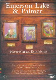 dvd - emerson lake e palmer - pictures at an exhibition