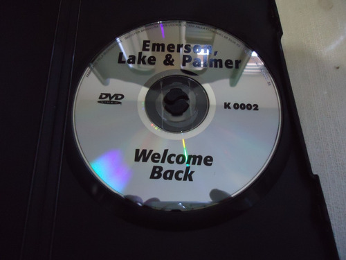 dvd - - emerson, lake & palmer - welcome back