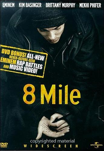 dvd eminem / 8 mile / calle de las ilusiones