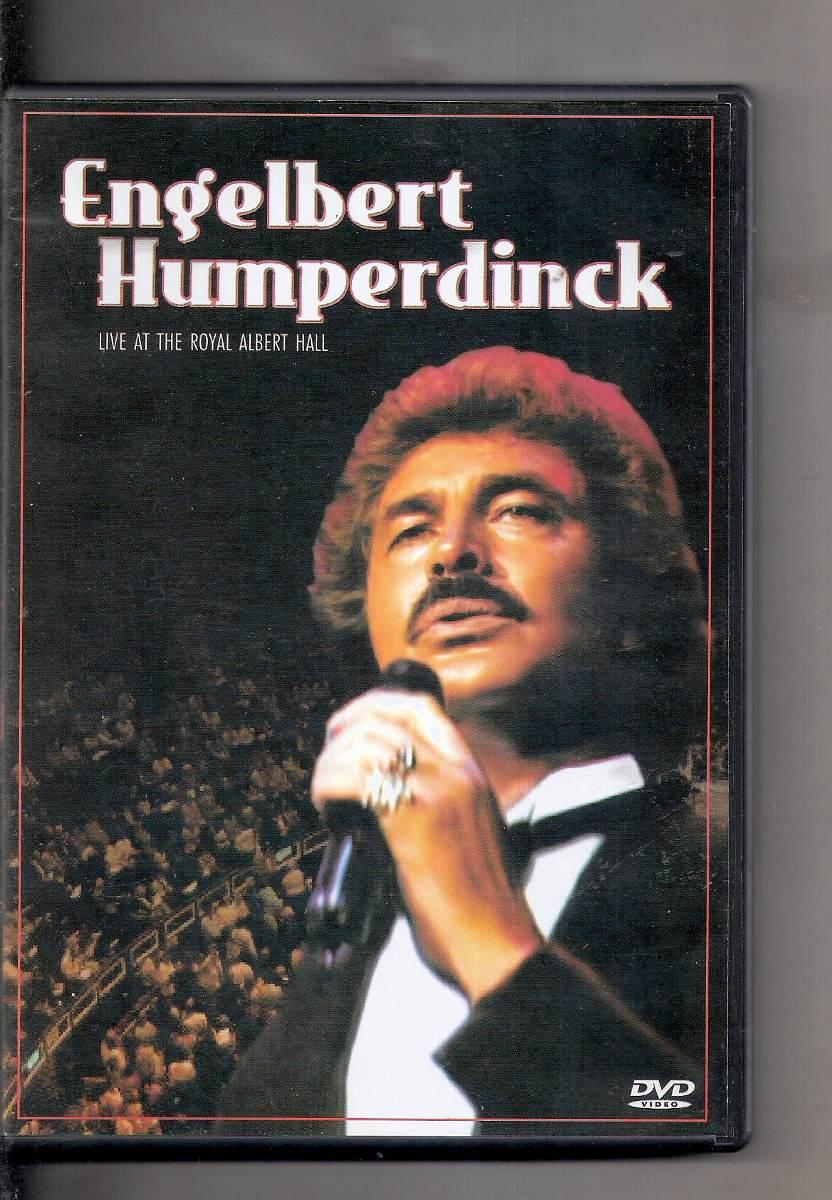 Dvd Engelbert Humperdinck Live At Royal Albert Hall