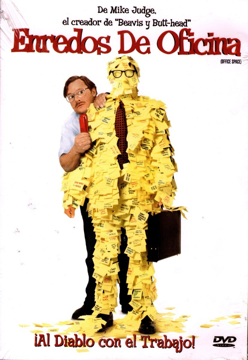 dvd enredos de oficina office space mike judge